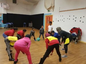 Young people having fun at SRCDC after school club